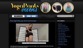 Yoga Pants Vixens - Flexible Yoga Ass